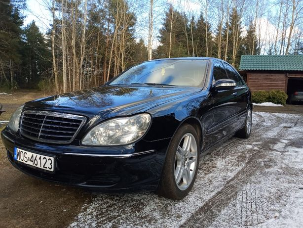 Mercedes S 320 CDI ROK 2004