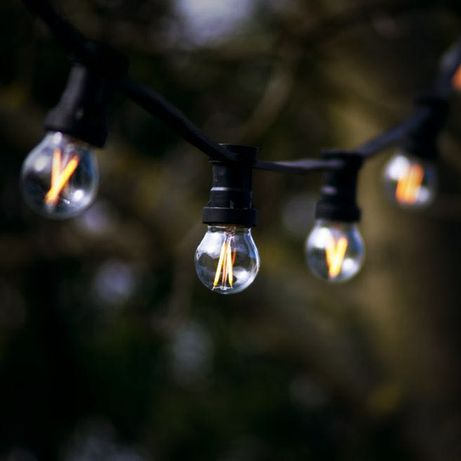 Girlandy żarówkowe 8 ZŁ/1 M światełka