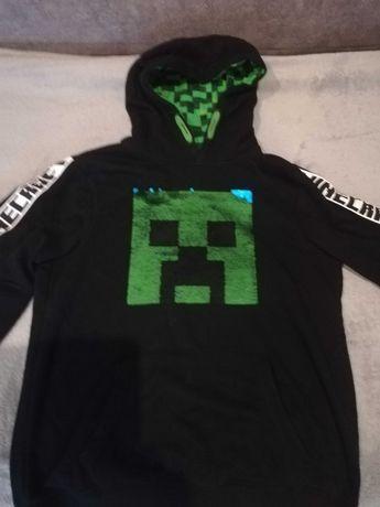 Minecraft bluza 146/152 ideał