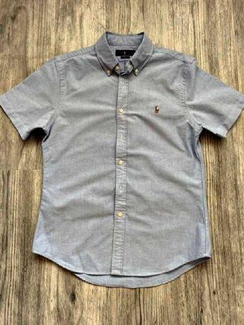 polo ralph lauren slim fit koszula jak nowa logowana roz.38