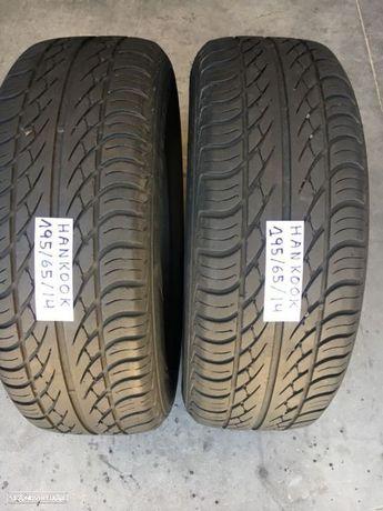 2 pneus semi novos hankook 195-65-14 Oferta dos Portes