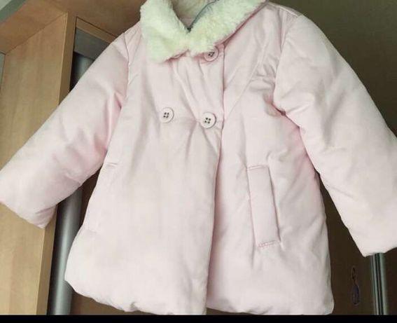 Курточка розовая , фирмы Некст, 9-12 мес., полномерит (9м.-1,5)