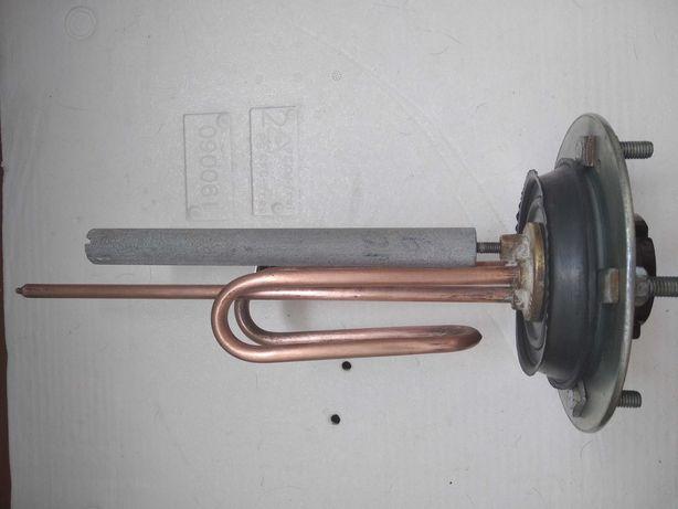 Тэн (Италия) для бойлера б/у +термостат+анод новый
