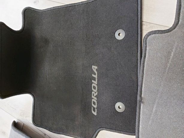 Коврики килимки Toyota Corolla 2006-2012 ворсовые оригинал .