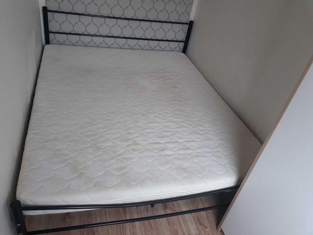 Łóżko kompletne 160 x 200 materac ze stelażem