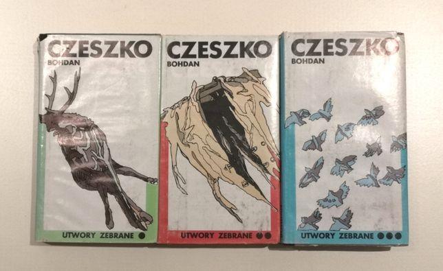 Bohdan Czeszko Utwory Zebrane (tom I-III, Warszawa 1983)