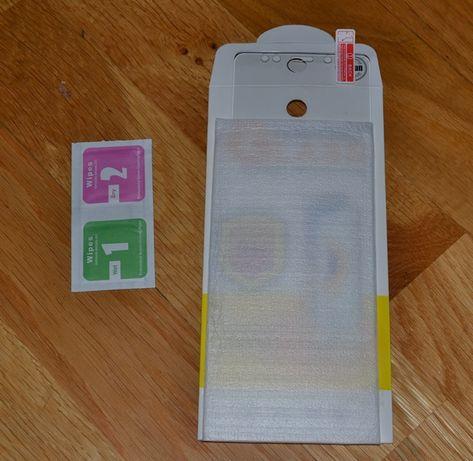 Стекло защитное моб телефон XIAOMI redmi Note 5 с сух и влажн салфетк