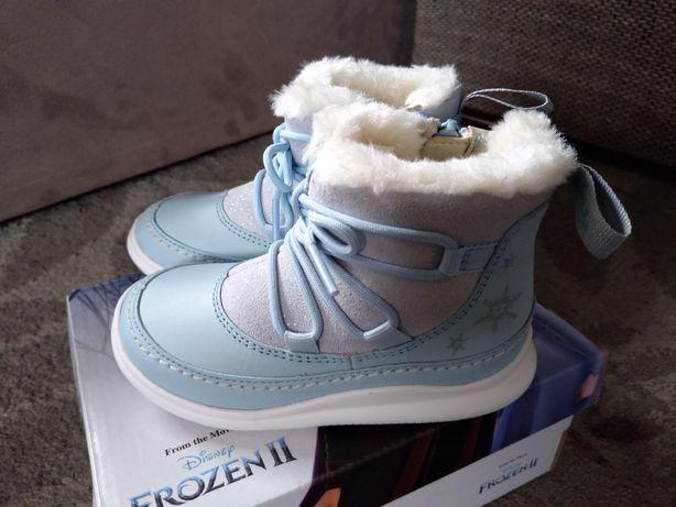 Kozaki Clarks r.23 Śniegowce Botki ocieplane/Geox Primigi Ecco Emel