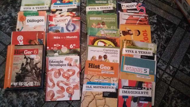 Livros do 5 e 6 ano
