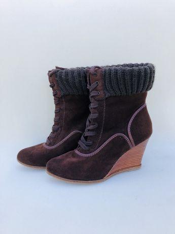 Ботинки на шнуровке Pier One (Германия)