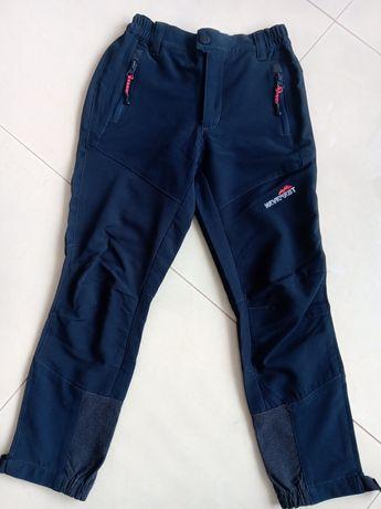 Spodnie na wycieczki gorskie 128