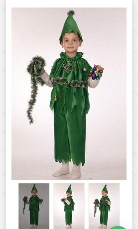 Новогодний костюм ёлки для мальчика. Карнавальный костюм Ёлки  ялинка