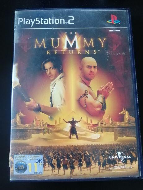 Jogo The Mummy Returns para Playstation 2 (ps2)