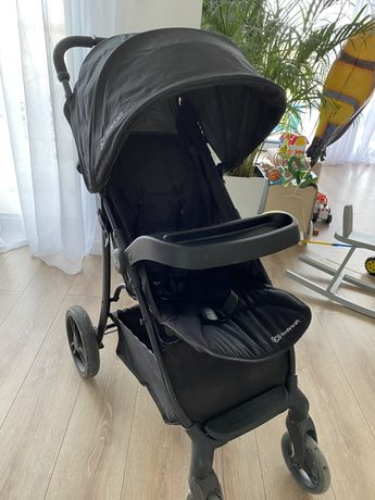 Wózek spacerowy spacerówka Kinderkraft Crusier czarny