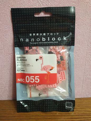Мини конструктор nanoblock наноблок фламинго