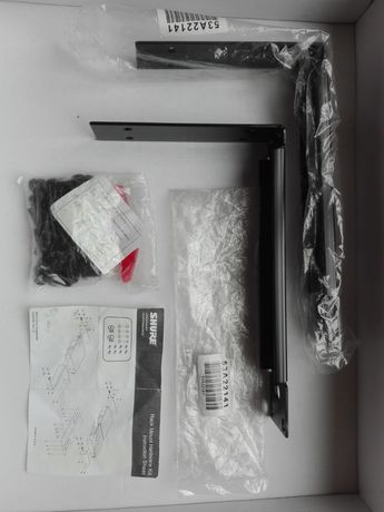Hardware Kit Shure plus uchwyty do ścian Shure