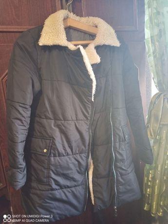 Курточка,пальто,желтка,парка