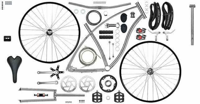 Ремонт велосипедa, сборка велосипеда