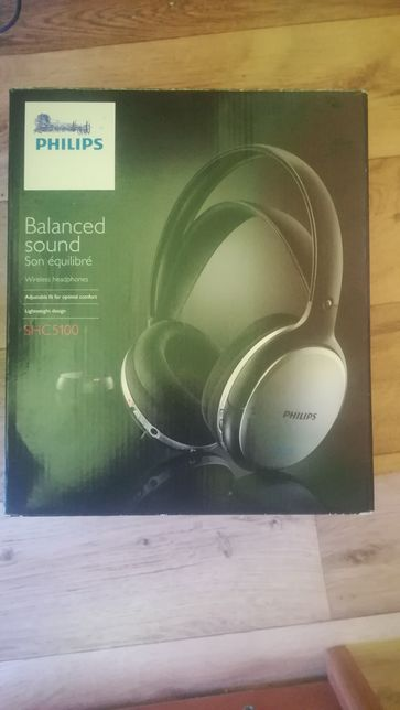Słuchawki Philips -PRAKTYCZNIE nie używane