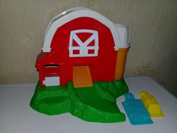 Набор для лепки Moon Dough Barn Spin Master Ферма Play-Doh
