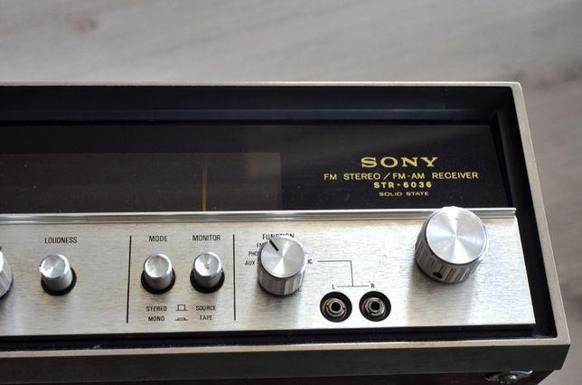 Amplituner Sony STR 6036 + głośniki za darmo