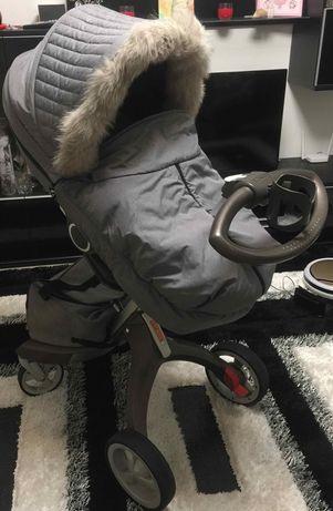 Продам коляску Stokke Xplory V4 Grey Malange!