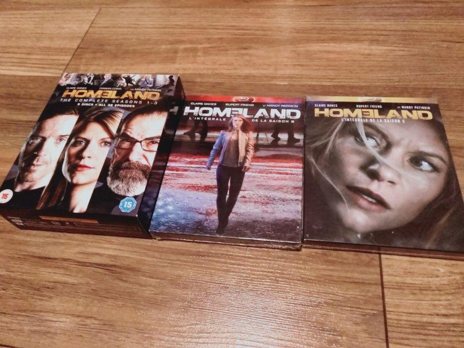 Homeland sezony 1, 2, 3, 5 i 6 BluRay serial Claire Danes Wrocław - image 1