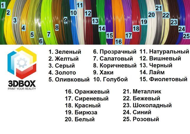 3д-пластик ABS для 3D-ручки, 25 цветов+светящийся+доставка (Украина)