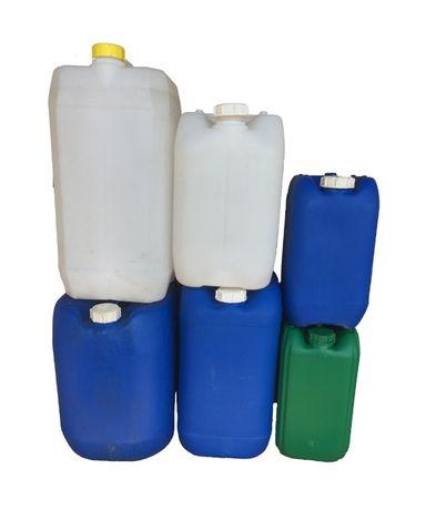 Пластиковая тара (бочки, канистры) б/у 130 л, 30 л, 25 л, 20 л, 12 л