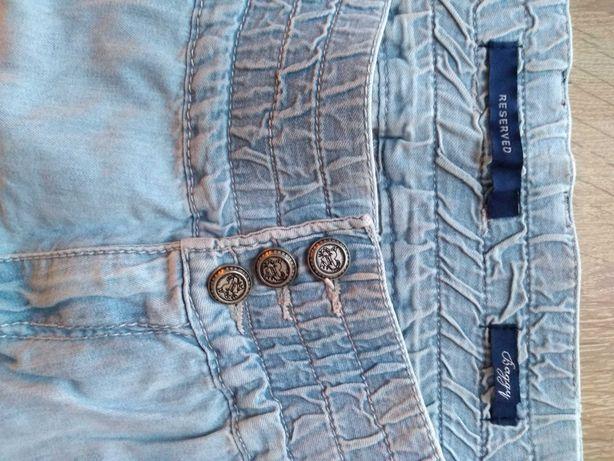 Nowe jeansy typu bojówki Reserved