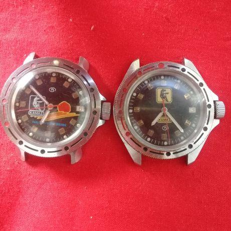 Часы СССР, Восток Командирские - КАМАЗ , подарочные,водонепроницаемые