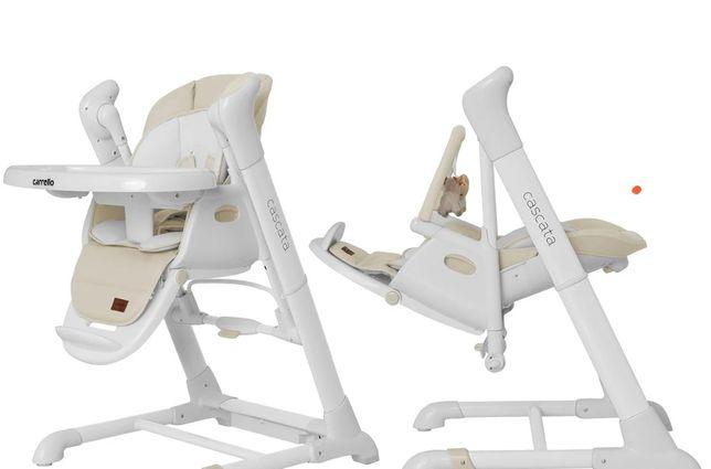 Стілець 3В1 CARRELLO TRIUMPH детское  Кресло качалка для кормления