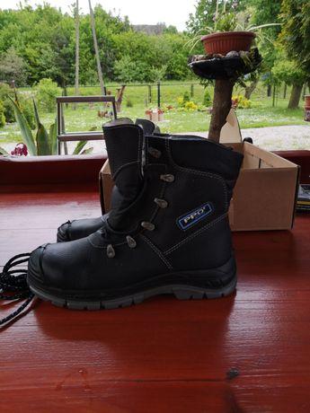 Trzewik bezpieczne s3 buty zimowe Robocze bhp Rozmiar 43