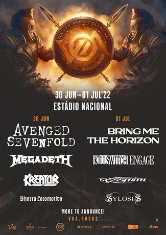 Heavy Rock Festival 2 bilhetes