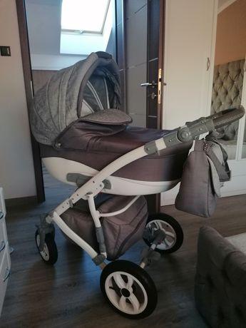 Wózek Camarelo Sirion 3 w 1 +fotelik