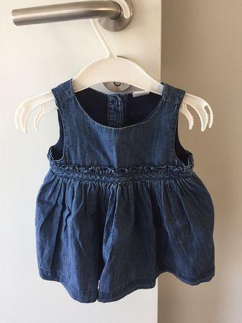 2 vestidos menina 3 a 6 meses