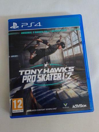 Jogo PS4 - Tony Hawk's pro skater 1+2