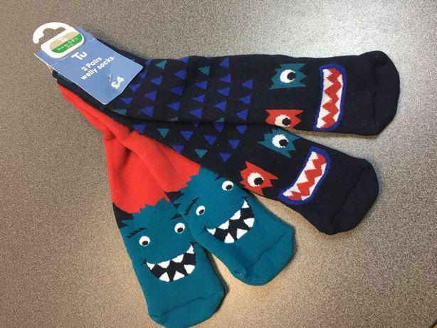 Новые детские носки, гольфы, гетры. Англия. 23-26 размер