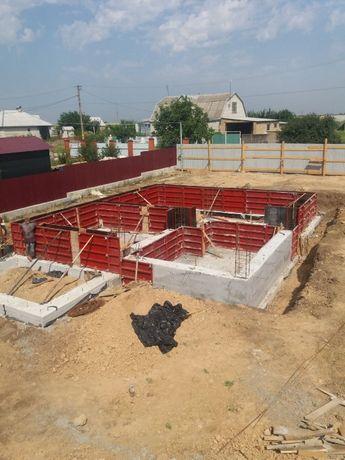 Фундаментные и бетонные работы в Херсоне