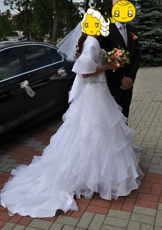 suknia ślubna ŚLICZNA!!