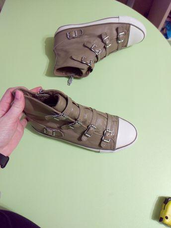 Кеды кроссовки ash original 39р. 25.5см натуральная кожа