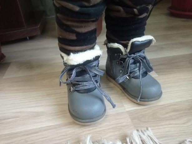 Сапоги,угги,сапожки, ботинки, шалунишка 23р 14,5 см стелька, кожаные