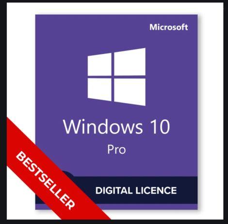 Windows 10/8.1/7/Pro/Home/Ultimate/Enterprise лицензия, ключ на 1 пк