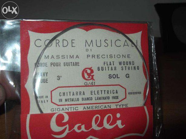 Cordas para guitarras eléctricas