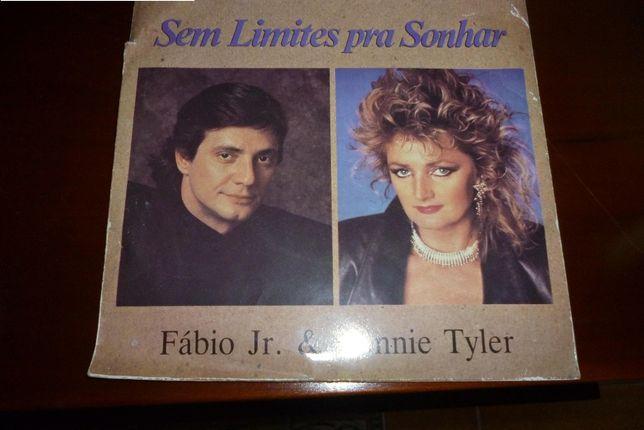 Disco de Vinil Bonnie Tyler & Fábio Jr. 