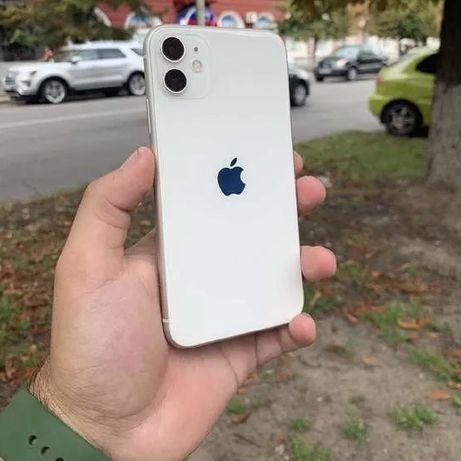Iphone 11 128 dual sim white, обмен на 12/12pro/12 pro max