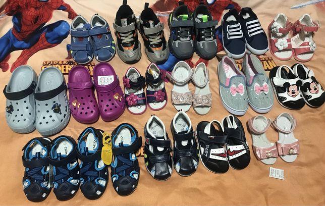 Детская обувь кроссовки кеды сандали и босоножки