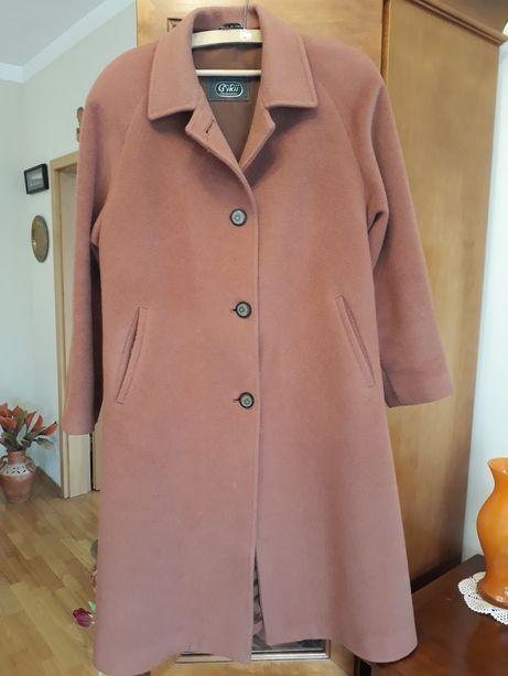 Elegancki płaszcz wełniany