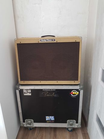 Peavey Classic 50 2x12 made in USA + hard case, nowy wentylator