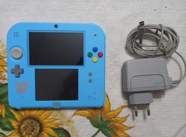 Nintendo 2DS (Pokemon Sun & Moon Edition) + Carregador Oficial